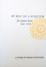 By Way of a Requiem for Joanna Paul